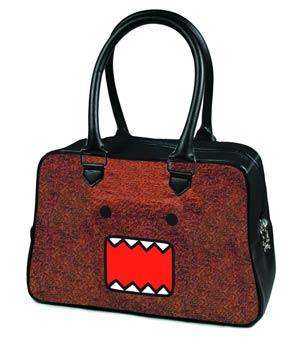 Domo Bowler Handbag - Furry