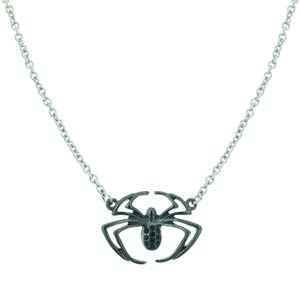 Spider-Man Silver Tone Spider Necklace