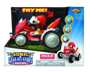 Sonic & Sega All-Stars Racing Knuckles Battery-Operated Car