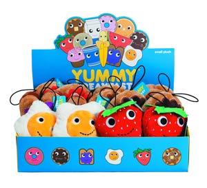 Yummy Small Plush 12-Piece Assortment Case