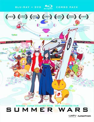 Summer Wars Blu-ray Combo DVD