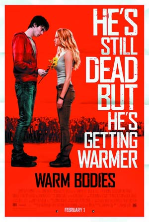 Warm Bodies Blu-ray DVD