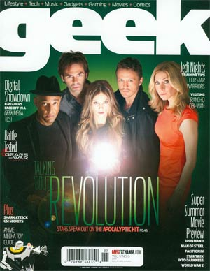Geek Magazine Vol 1 #6 May 2013
