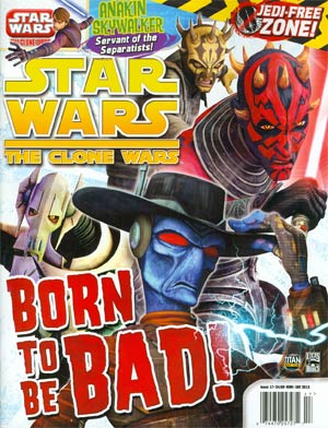 Star Wars The Clone Wars Magazine #17 May / Jun 2013