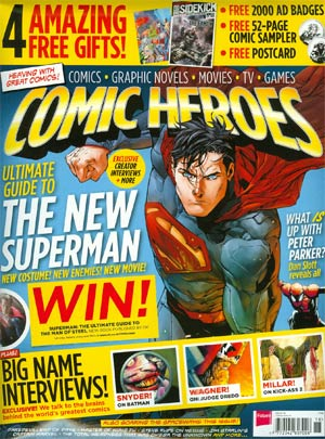 Comic Heroes Magazine #18