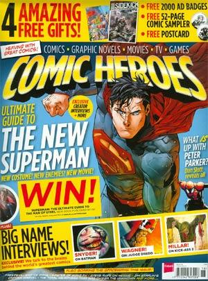 Comic Heroes Magazine #18