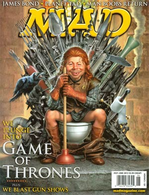 MAD Magazine #521