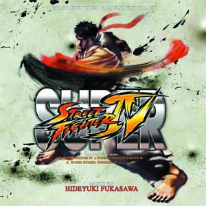 Street Fighter 4 Original Soundtrack CD