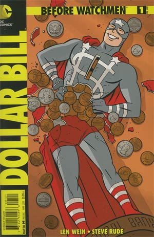 Before Watchmen Dollar Bill #1 Incentive Darwyn Cooke Variant Cover
