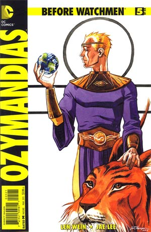 Before Watchmen Ozymandias #5 Incentive Jill Thompson Variant Cover