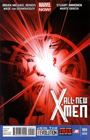 All-New X-Men #4 2nd Ptg Stuart Immonen Variant Cover