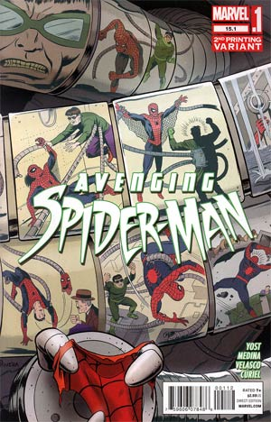 Avenging Spider-Man #15.1 2nd Ptg Paolo Rivera Variant Cover
