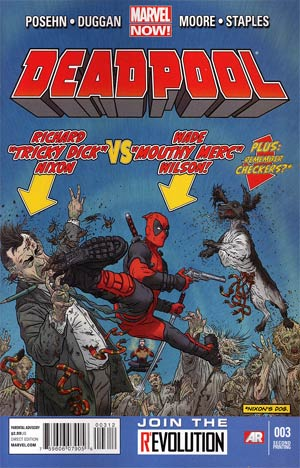 Deadpool Vol 4 #3 2nd Ptg Geof Darrow Variant Cover