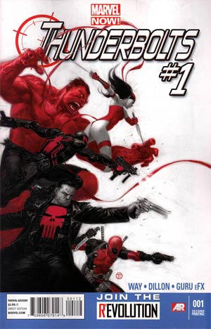 Thunderbolts Vol 2 #1 2nd Ptg Steve Dillon Variant Cover