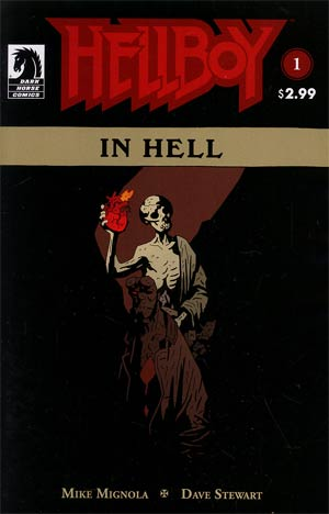 Hellboy In Hell #1 2nd Ptg Mike Mignola Cover