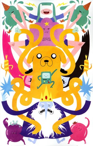 Adventure Time #12 Incentive Lilli Carre Virgin Variant Cover
