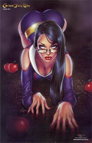 Grimm Fairy Tales #81 Zenescope Exclusive Elias Chatzoudis Variant Cover