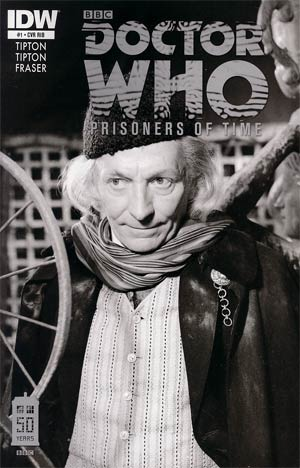 Doctor Who Prisoners Of Time #1 Incentive First Doctor Photo Variant Cover