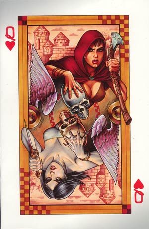 Damsels #5 Incentive Joseph Michael Linsner Virgin Cover