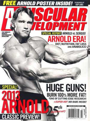 Muscular Development Magazine Vol 50 #3 Mar 2013