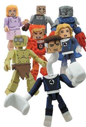 Marvel Minimates Series 48 Invisible Woman & Moloid 2-Pack