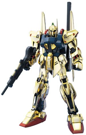 Gundam Model Kit Action Figure Master Grade 1/100 Scale - MSN-00100 Hyaku-Shiki A.E.U.G. Attack Use Prototype Mobile Suit