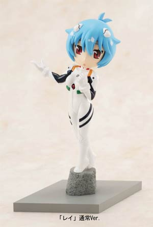 Neon Genesis Evangelion C-Style Petite Evangelion At School - #2 Rei Figure