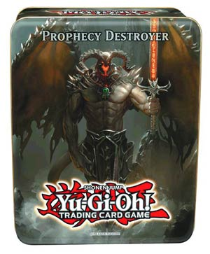 Yu-Gi-Oh 2012 Collectible Tin Case Wave 2.5 - Prophecy Destroyer