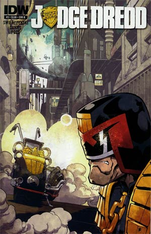 Judge Dredd Vol 4 #3 Regular Cover B Nelson Daniel