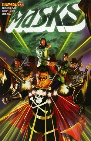 Masks #3 Regular Alex Ross Cover