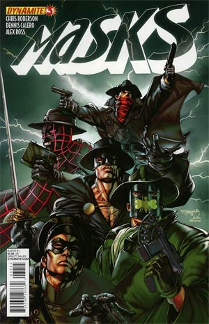 Masks #3 Regular Stephen Segovia Cover
