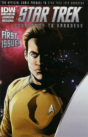 Star Trek Countdown To Darkness #1 1st Ptg Regular Cover A David Messina