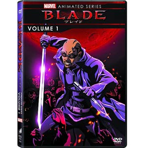 Marvel Blade Animated Series Vol 1 DVD