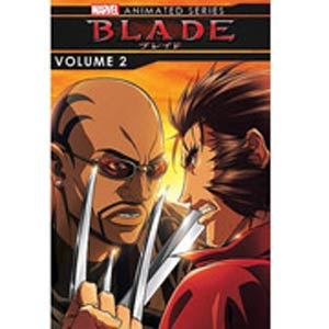 Marvel Blade Animated Series Vol 2 DVD