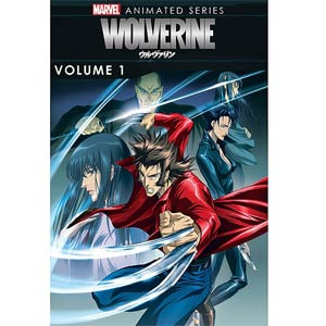 Marvel Wolverine Animated Series Vol 1 DVD