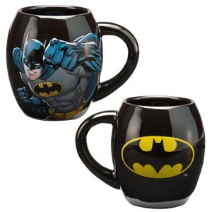 Batman 18-Ounce Ceramic Oval Mug