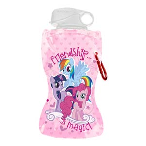 My Little Pony 12-Ounce Collapsible Water Bottle