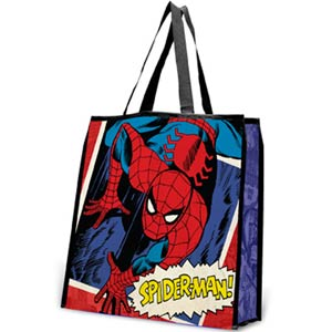 Spider-Man Large Recycle Shopper Tote
