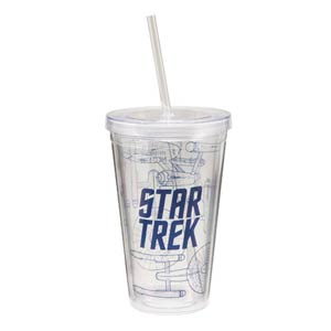 Star Trek 18-Ounce Acrylic Travel Cup