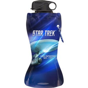 Star Trek 24-Ounce Collapsible Water Bottle