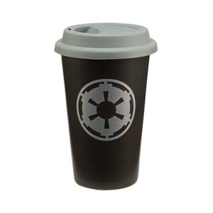 Star Wars 12-Ounce Ceramic Travel Mug