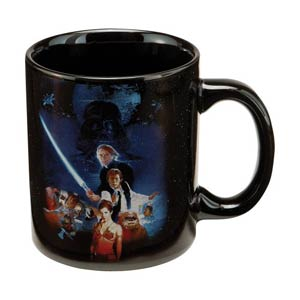 Star Wars Return Of The Jedi 12-Ounce Ceramic Mug