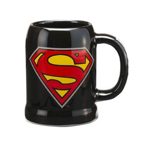 Superman 20-Ounce Ceramic Stein