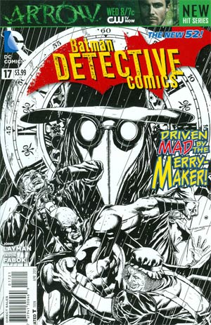 Detective Comics Vol 2 #17 Incentive Jason Fabok Sketch Cover (Death Of The Family Tie-In)