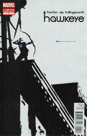 Hawkeye Vol 4 #1 4th Ptg David Aja Variant Cover