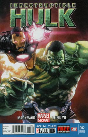 Indestructible Hulk #2 2nd Ptg Leinil Francis Yu Variant Cover