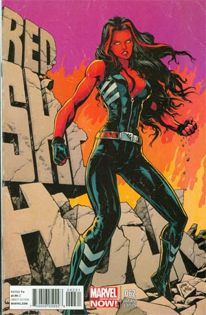 Red She-Hulk #62 Incentive Steve Lightle Variant Cover