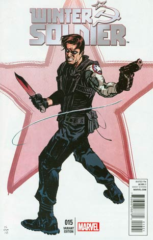 Winter Soldier #15 Cover B Incentive Nic Klein Variant Cover