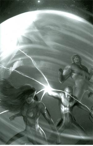 Hypernaturals #8 Incentive Francesco Mattina Virgin Sketch Cover