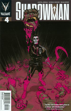 Shadowman Vol 4 #4 Incentive Dave Johnson Variant Cover